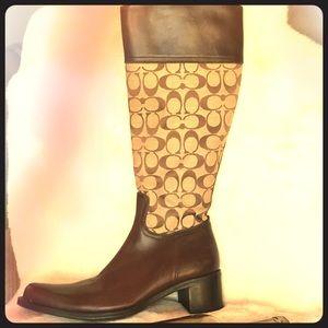Women's knee high dress boots